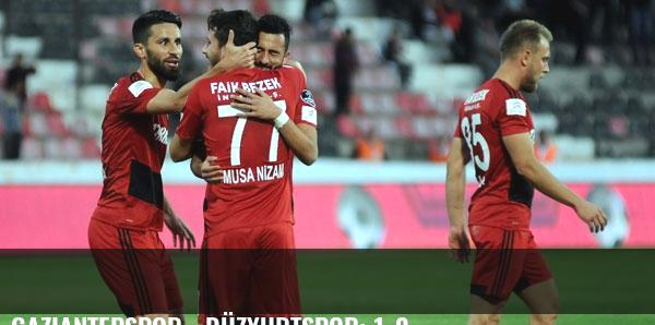 Gaziantepspor - Düzyurtspor: 1-0
