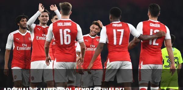 Arsenal ve Liverpool çeyrek finalde!
