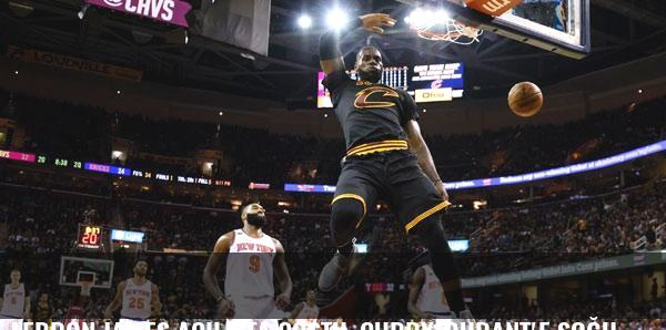 LeBron James açılışta coştu, Curry-Durant'e soğuk duş!