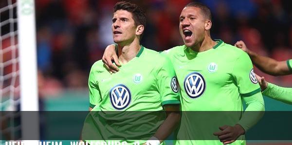Heidenheim- Wolfsburg: 0-1
