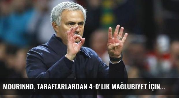 Mourinho, Taraftarlardan 4-0'lık Mağlubiyet İçin Özür Diledi