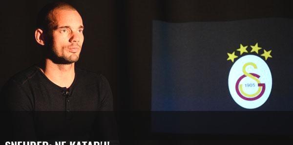 Sneijder: Ne Katar'ı!