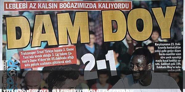Trabzon yerel basını futbolu eleştirdi!