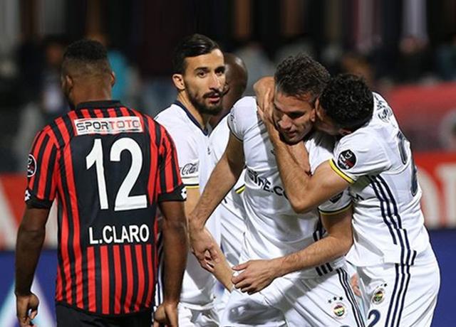 Gençlerbirliği 1-2 Fenerbahçe | Spor Toto Süper Lig Maç Sonucu