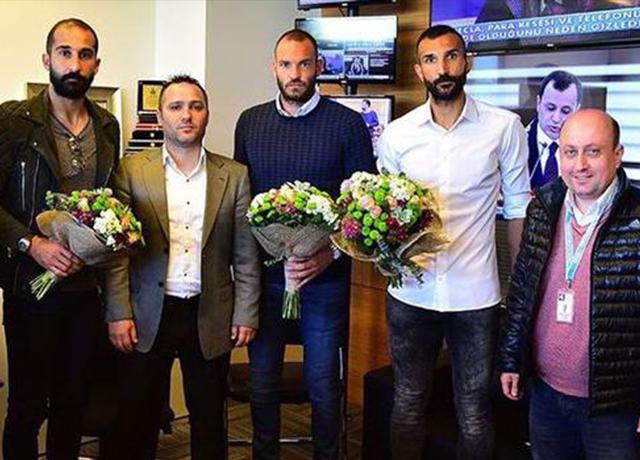 Başakşehirli 4 futbolcuya 1 yıl men cezası!