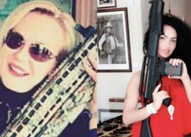 Filiz Aker'in yeğeninin silahlı fotoğrafları şoke etti!