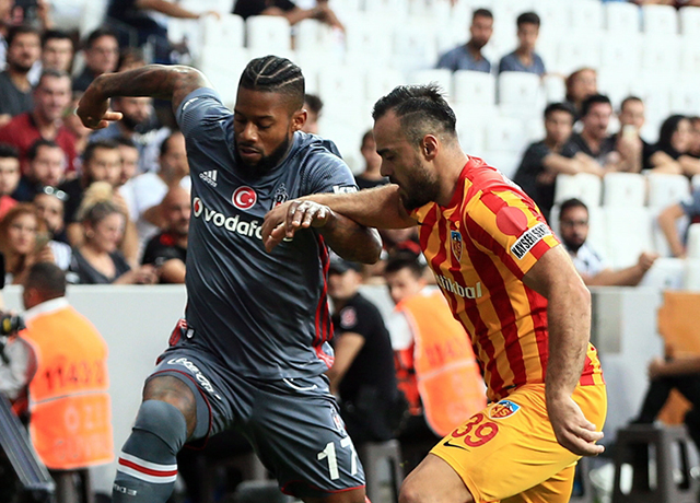 Beşiktaş-Kayserispor maç sonucu: 1-1
