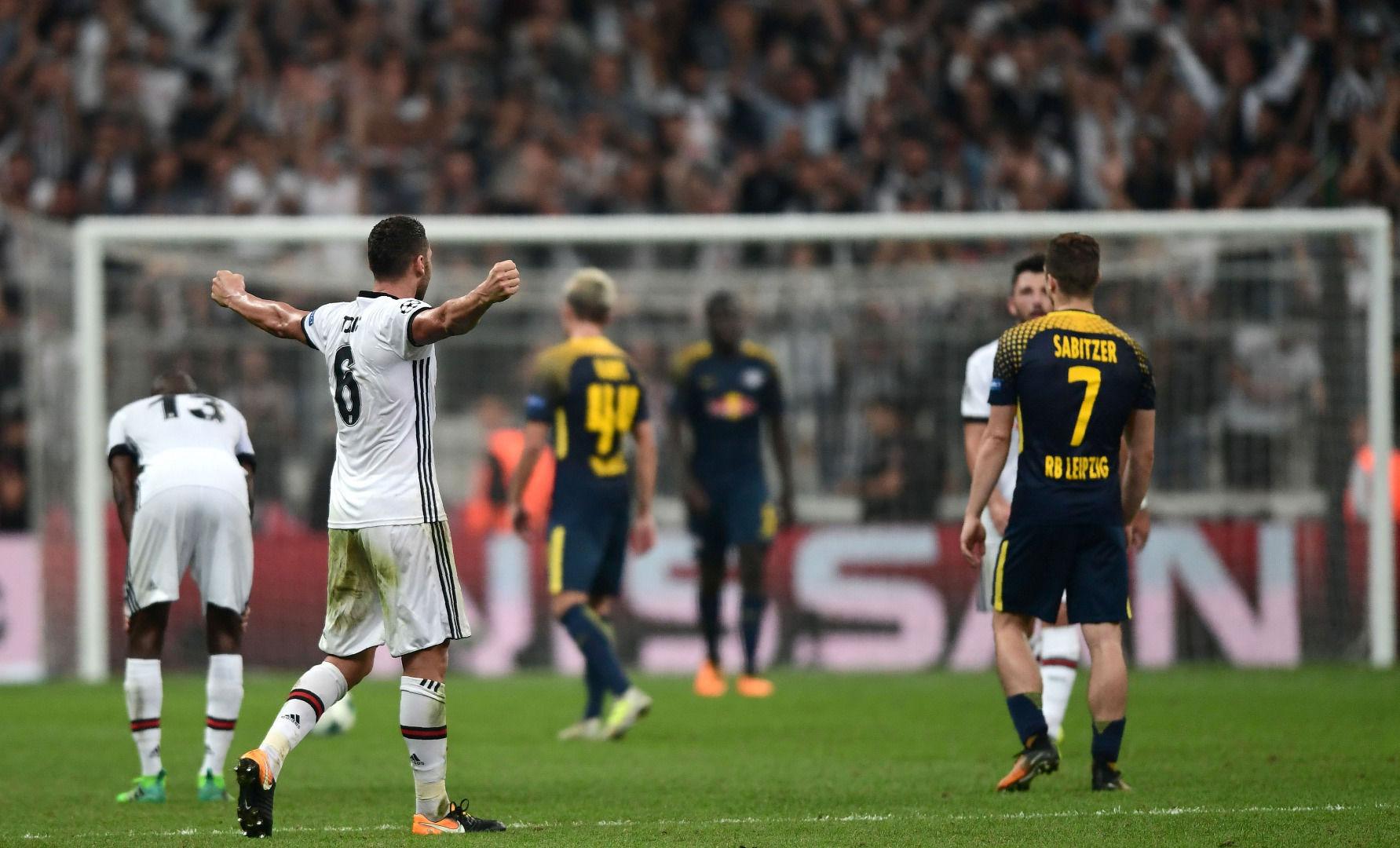 Avrupa basını Beşiktaş'ın Leipzig galibiyetini manşetlerine taşıdı!
