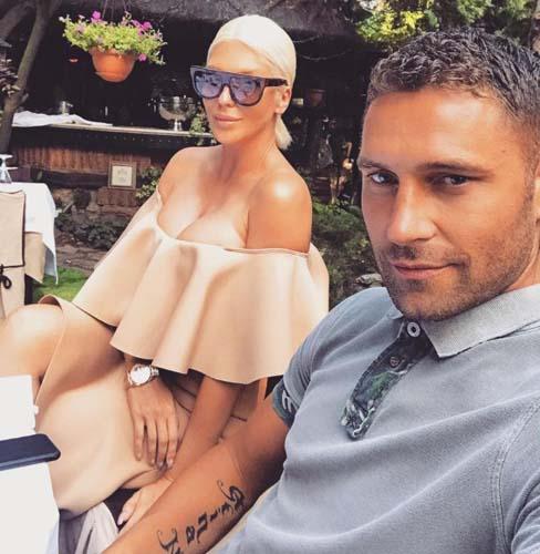 Tosic'in deparı Jelena'yı mest etti! Instagram'dan paylaştı...