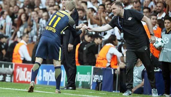 Beşiktaş taraftarı Werner'i sağır etti! Oyundan çıkmak istedi...