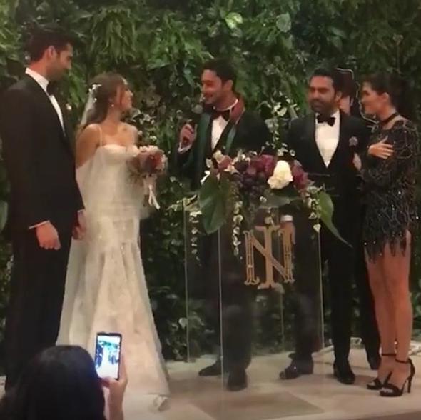 'Ezel'in Ömer'i İsmail Filiz evlendi