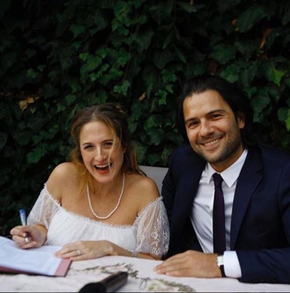 Canan Ergüder ile Kenan Ece evlendi