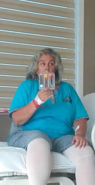 Mide küçültme ameliyatı olan Burçin Orhon'un son hali