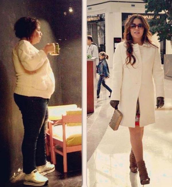 1 yılda 50 kilo verdi, takipçileri 'Bu sen misin?' dedi