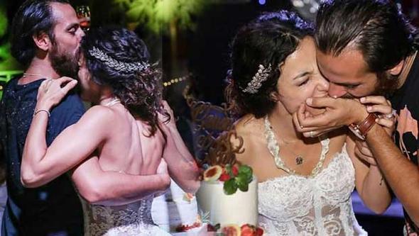 Ünlü çiftin rüya gibi düğününden yeni görüntüler ortaya çıktı!
