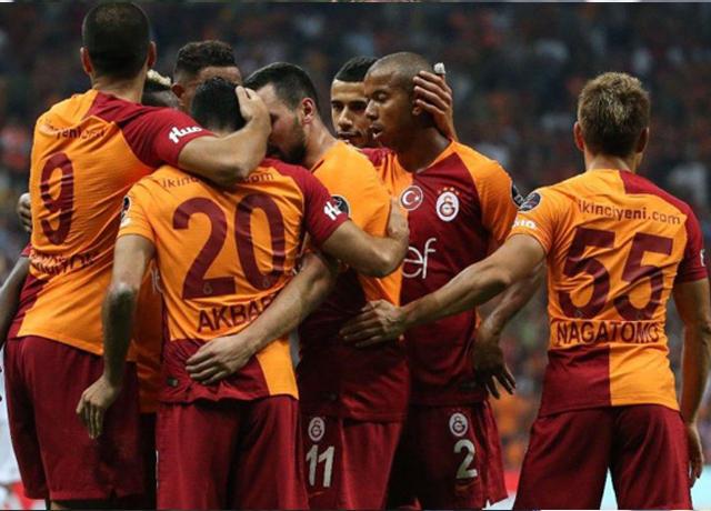 Galatasaray sahasında şov yaptı!
