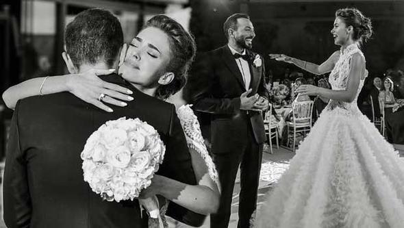 Bensu Soral düğün fotoğraflarını paylaştı, teşekkür etti