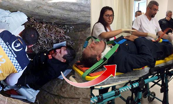 Ünlü oyuncunun ayağı kırıldı! Hemen hastaneye kaldırıldı...