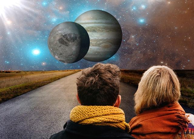 Jüpiter ve Venüs kavuşuyor!