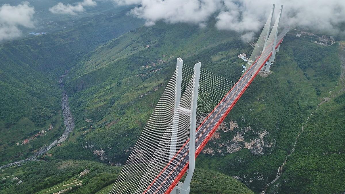 Dünyanın en yüksek köprüsü!