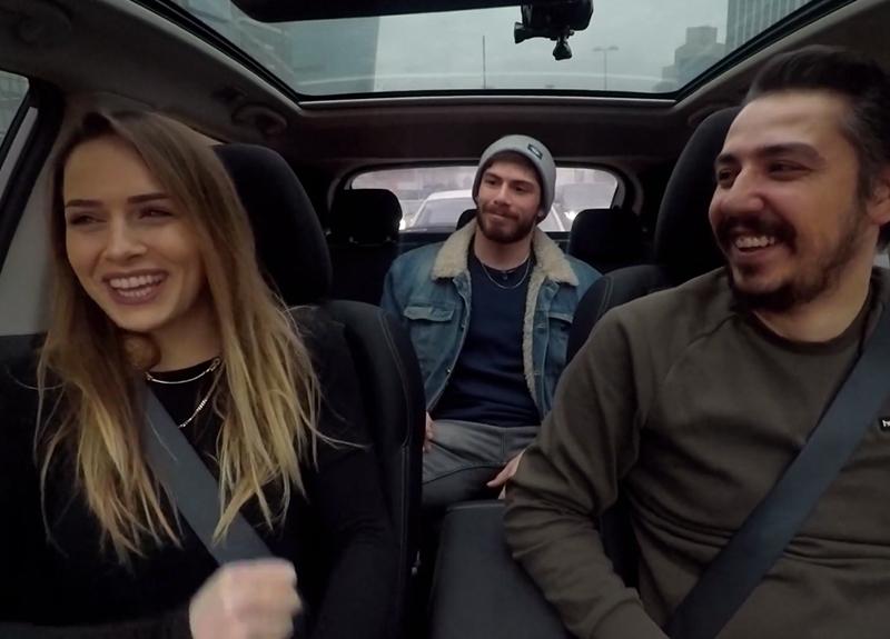 Damla Can ve Anıl Berk Baki, Survivor Taksi'ye konuk oldu!