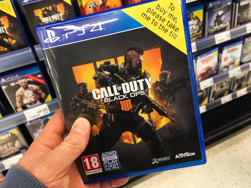 Call of Duty, 2018'de en çok satan konsol oyunu oldu!