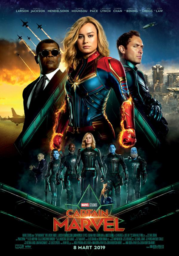 Kerem Bürsin Captain Marvel filminin galasına katıldı