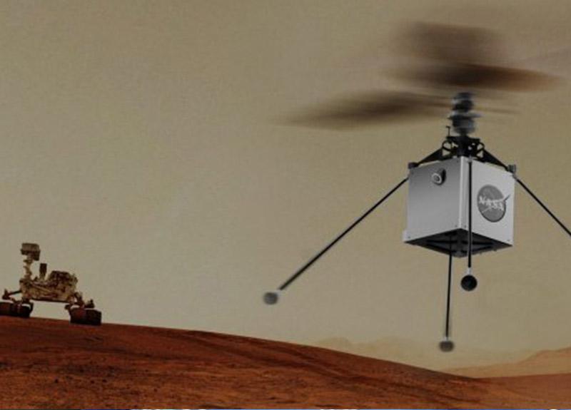 NASA Mars'a helikopter gönderecek!