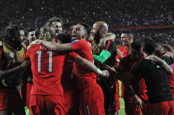 Fransa maçına damga vuran Hasan Ali sosyal medyayı salladı