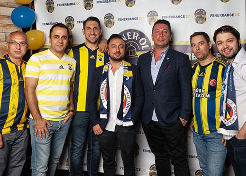 Washington DC'de yaşayan Fenerbahçeliler'den 'Fener Ol' gecesi