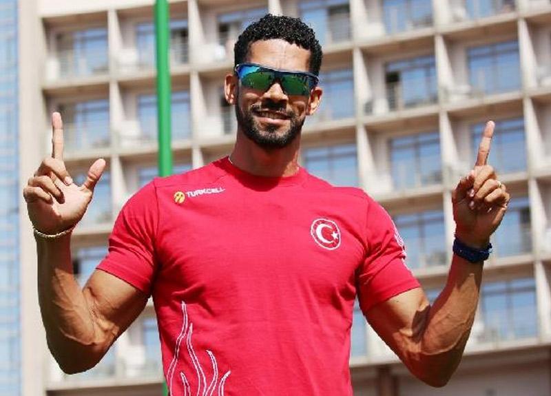 Milli atlet Yasmani, Londra'da ikinci oldu