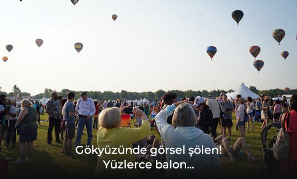 New Jersey QuickChek Balon Festivali rengarenk geçti