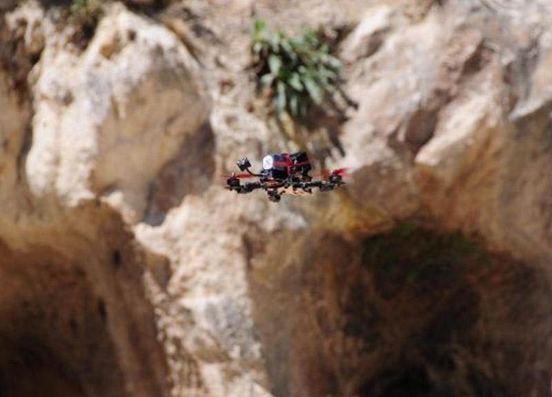 Türkiye Drone Şampiyonası'nın 3. etabı başladı
