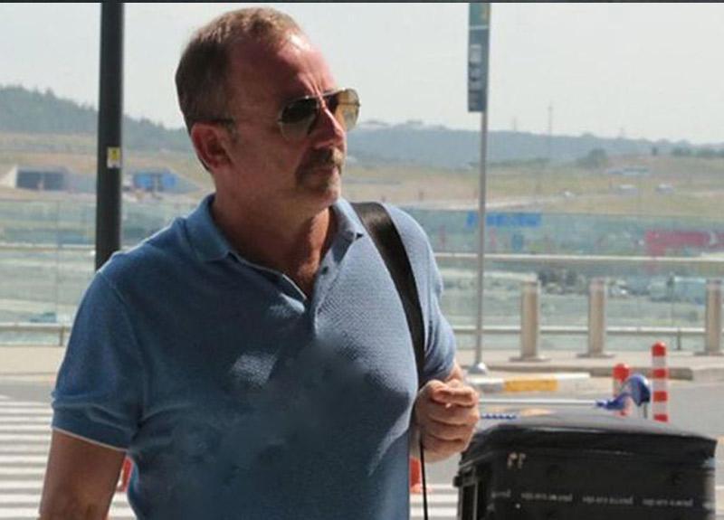 Sergen Yalçın'a uçakta jest: 'Elbet bir gün kavuşacağız!'