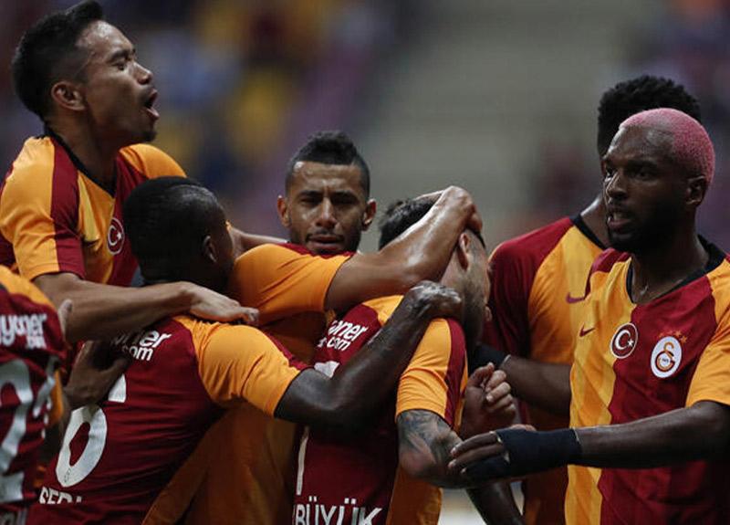 Galatasaray taraftarı önünde kazandı!