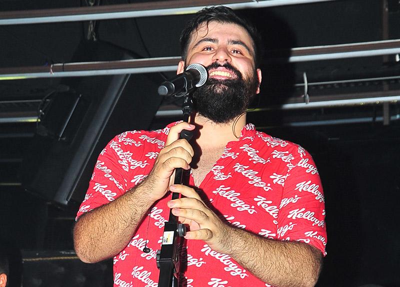 Ortaköy'de 'Kim o sakallı adam' rüzgarı esti!