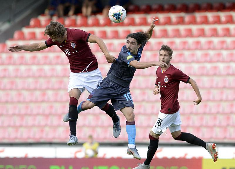 Sparta Prag ve Trabzonspor 2-2 berabere kaldı