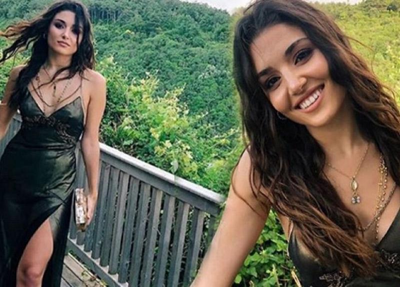 Ünlü fotoğrafçı duyurdu; Hande Erçel Bollywood'a açılıyor!