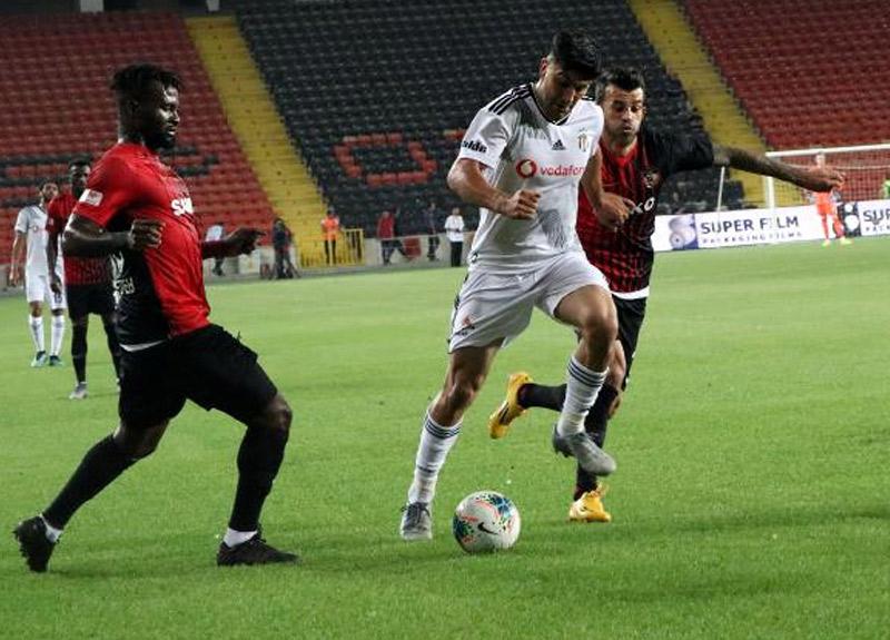 Gazişehir Gaziantep: 3 Beşiktaş: 2