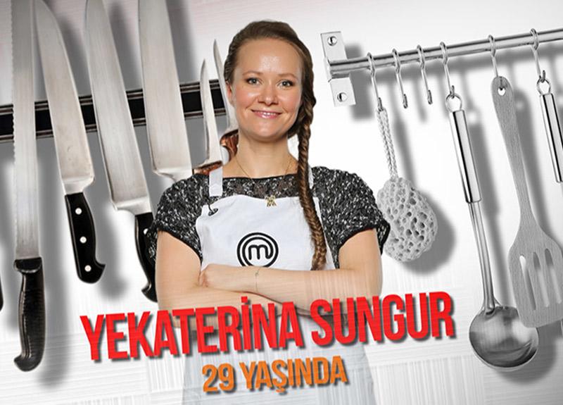 MasterChef Türkiye Yekaterina Sungur kimdir?