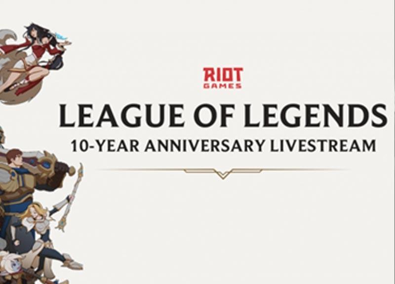 League of Legends 10. yılını kutladı!
