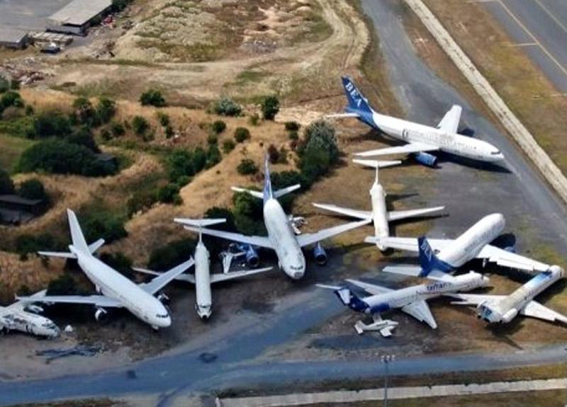 İstanbul'un göbeğinde 16 sahipsiz uçak