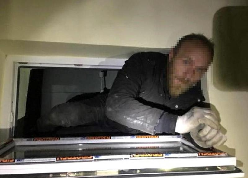 Bekçiler hırsızı öyle bir yerde yakaladı ki...