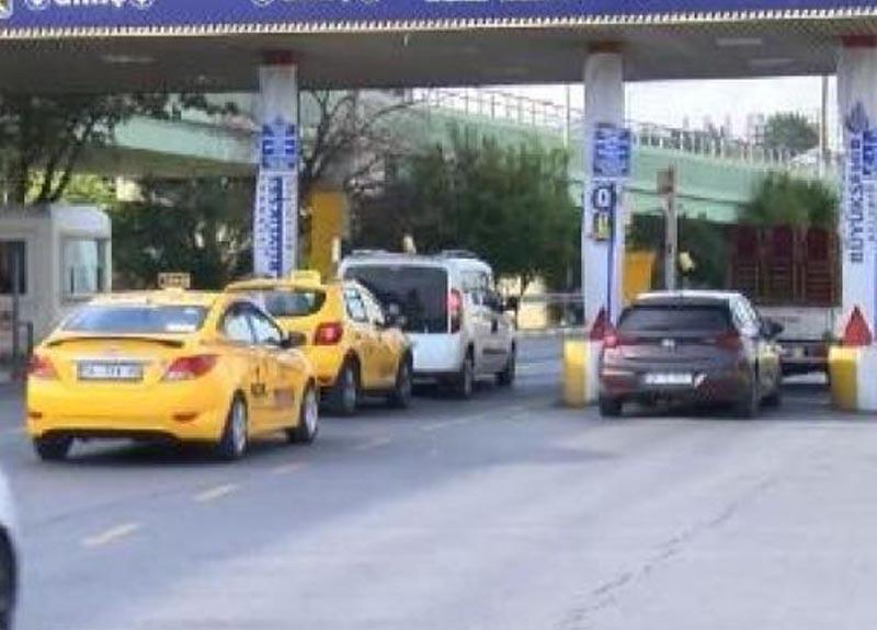 Otogarda taksicilerin tartışma yaratan talebi