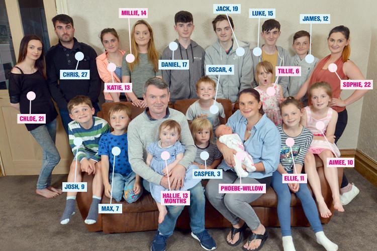 21 çocukları var, 22. çocuk ise yolda