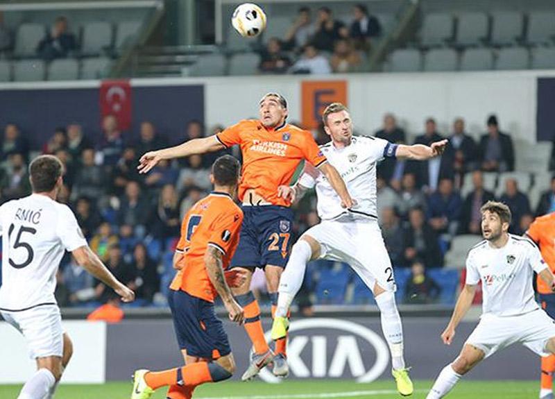 Başakşehir - Wolfsberger maç sonucu: 1-0