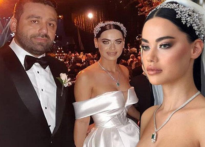 Survivor Fatmagül Fakı evlendi! İşte düğünden görüntüler
