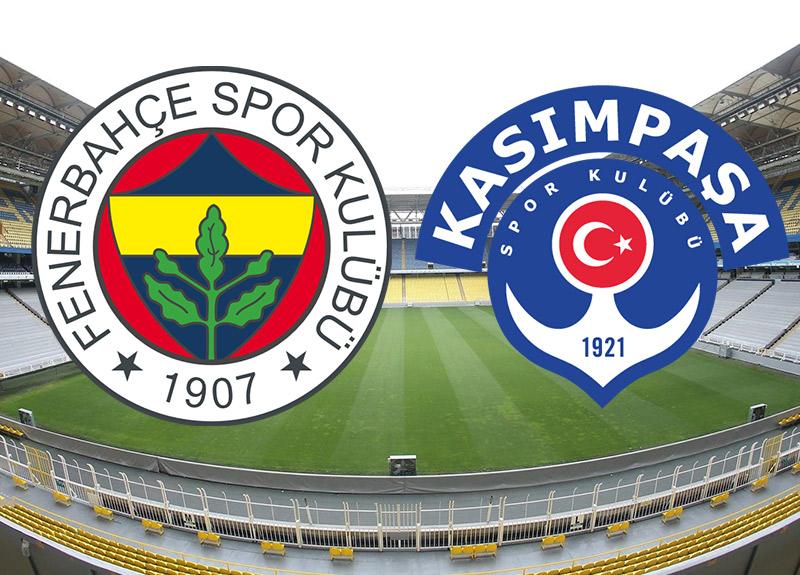 Fenerbahçe Kasımpaşa canlı izle | Fenerbahçe Kasımpaşa maçı saat kaçta?