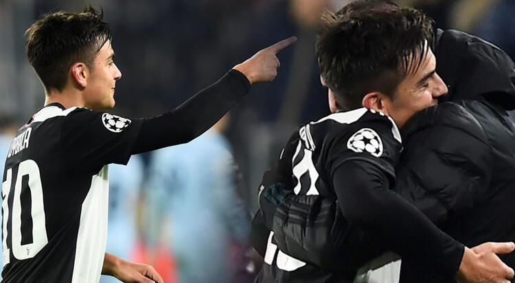 Juventus'ta gol atan Paulo Dybala'nın Merih Demiral'a asker selamı sosyal medyayı salladı