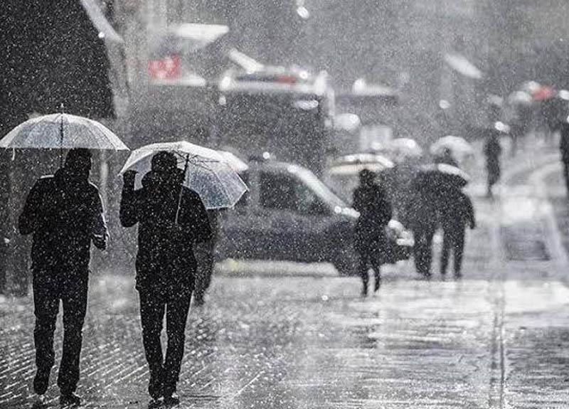 Meteoroloji bazı iller için kuvvetli yağış ve karla karışık yağmur uyarısında bulundu